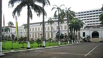 Ministry of Finance (Indonesia) - Image: Gedung Departemen Keuangan RI