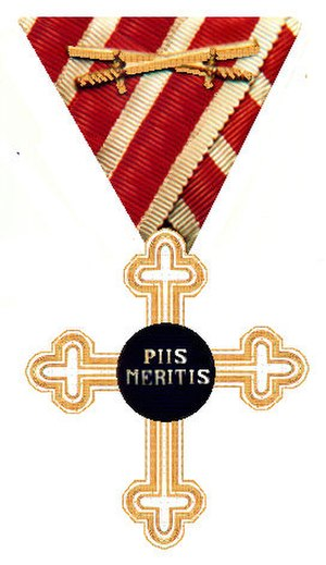 Orders, decorations, and medals of Austria-Hungary - Merit Cross for Military Chaplains