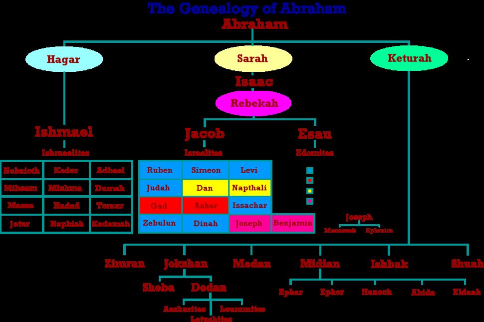 Genealogy abraham