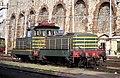 Genova - stazione Brignole - locomotive E.321.111 + E.322.111 - 31-01-1993.jpg