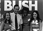 George Bush with interns during the 1970 Senate Race 2501.jpg