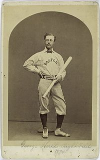 George Hall (baseball) baseball player