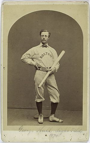 George Hall (baseball) - Image: George Hall 1874