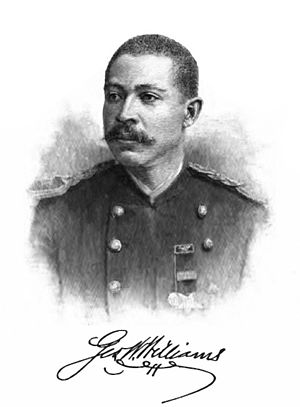 George Washington Williams - Image: George W. Williams from History of Negro Troops