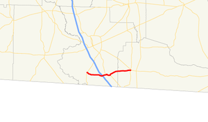 Georgia State Route 376 - Image: Georgia state route 376 map