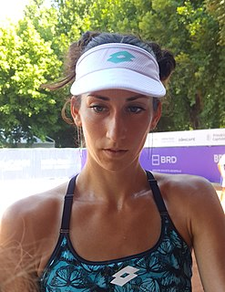 Georgina García Pérez Spanish tennis player