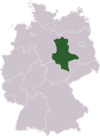 The federal state of Saxony-Anhalt in Germany
