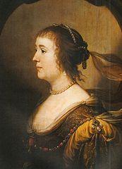 Portrait de Amalia van Solms (1602-1675)