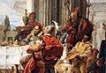 Giambattista tiepolo, il banchetto di cleopatra, 1742-43, 06.JPG