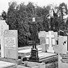 gietijzeren grafkruis op kerkhof - appeltern - 20023829 - rce