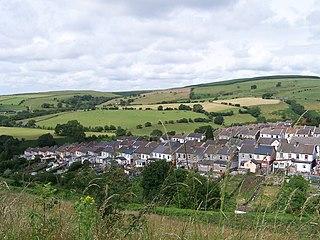 Gilfach Goch village in Wales