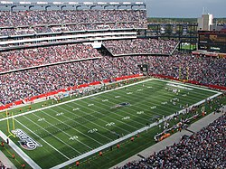 Gillette Stadium katika Foxborough
