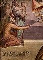 Giorgio vasari, gregorio xi torna a roma da avignone, 1572-73, 04 firma.jpg