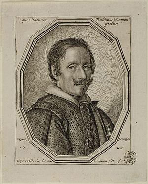 Giovanni Baglione - Image: Giovanni Baglione by Ottavio Leoni I