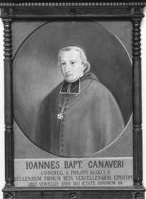 Giovanni Battista Canaveri - Image: Giovanni Canaveri