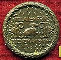 Giovanni candida, medaglia di carlo il temerario, duca di borgogna, verso con toson d'oro tra due acciarini e scintille.JPG