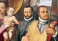 Giovanni maria butteri, madonna in trono col bambino, s. anna, santi e personaggi famiglia medici, 04 francesco I.JPG