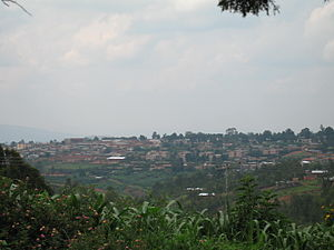 Skyline of Gitega
