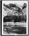 Glacier National Park, Montana. Cliffs on northeast side of Lake Avalanche, East End Mountain LCCN90715346.jpg