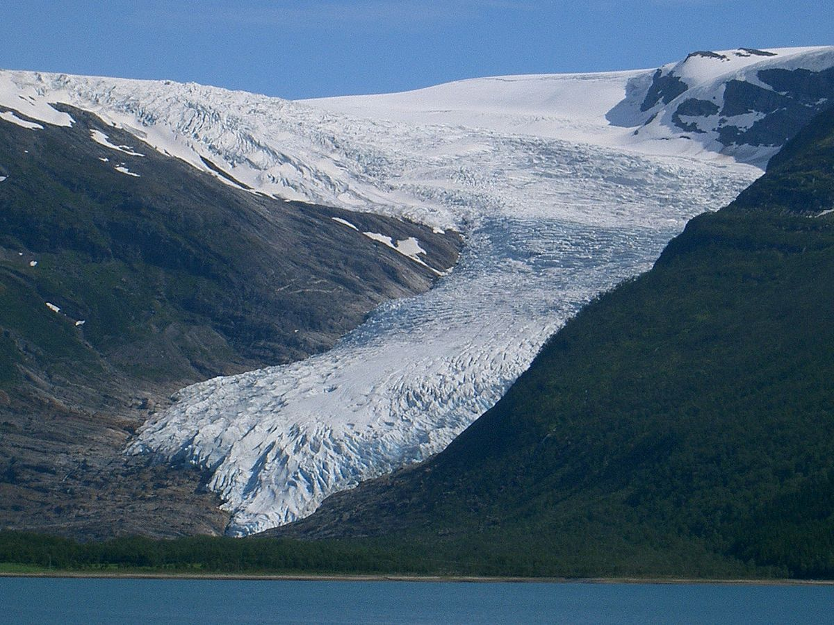 List Of Glaciers In Norway Wikipedia - Norway glacier map