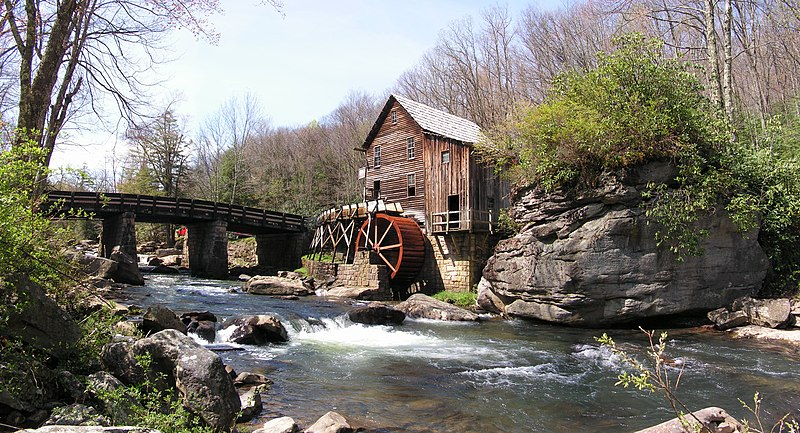 Fichier:Glade Creek Grist Mill.jpg