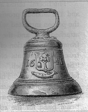 Dead bell - The 1641 Glasgow 'deid bell', now on display in Glasgow's People's Palace on Glasgow Green