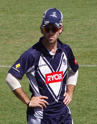 Glenn Maxwell - Maxwell in October 2011