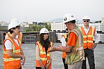Gloria Steele visits the dioxin remediation site in Danang Airport (30496640146).jpg