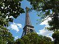 Go Green Message from Eiffel.JPG