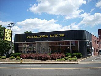 National Register of Historic Places listings in Arlington County, Virginia - Image: Gold's Gym, 3910 Wilson Blvd (Arlington, Virginia)