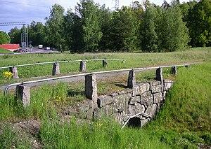 Alby, Botkyrka - stone bridge Alby.