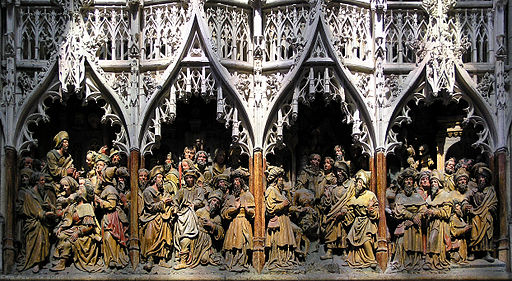 Gothic sculpture 15 century bordercropped