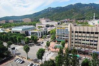 Gwacheon Municipal City in Sudogwon, South Korea