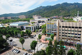 Gwacheon - Image: Government Complex Gwacheon, 2011