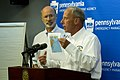 Governor Wolf and PEMA Director Rick Flinn Give Briefing on Hurricane Joaquin (21879761731).jpg