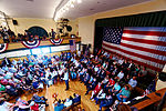 Governor of Florida Jeb Bush, Announcement Tour and Town Hall, Adams Opera House, Derry, New Hampshire by Michael Vadon 39.jpg