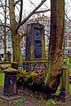 Grabmal des Heinrich Bernhard Röhrs Einfriedung mit dem Naturdenkmal Ahorn III.jpg