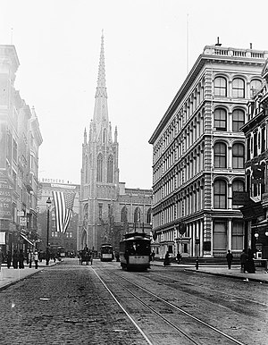 Grace Church (Manhattan) - Grace Church, circa 1900