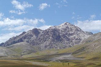 Gran Sasso d'Italia - Monte Prena in the chain of Gran Sasso.