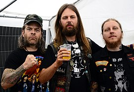 Grand Magus beim Headbangers Open Air 2014