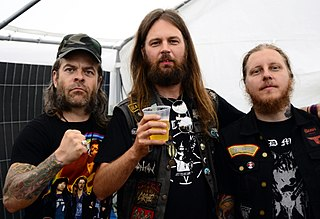 Grand Magus Swedish heavy metal band