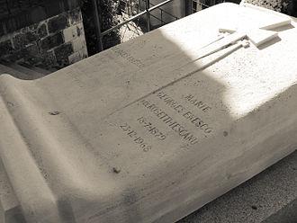 George Enescu - Grave of George Enescu -Père Lachaise Cemetery
