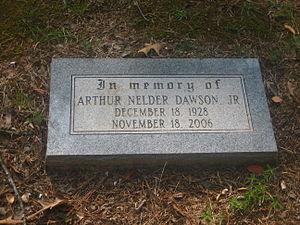 Nelder Dawson - Grave of Nelder Dawson at Greenwood Memorial Park in Pineville, Louisiana