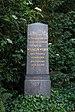 Grave of Wilhelm Eduard Weber at Stadtfriedhof Göttingen 2017 01.jpg