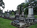 Graves, Paddington Cemetery - geograph.org.uk - 580629.jpg