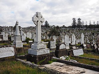 Waverley Cemetery - Graves at Waverley Cemetery