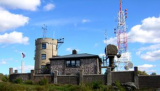 Blue Hill Meteorological Observatory - View from the west-northwest