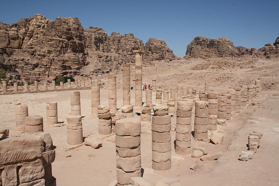 Great Temple, Petra, Jordan4