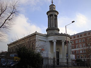 Henry William Inwood - All Saints' Camden Town, from the north-west