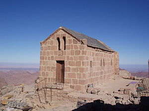 Mount Sinai - A Greek Orthodox Chapel at the top of Mount Sinai